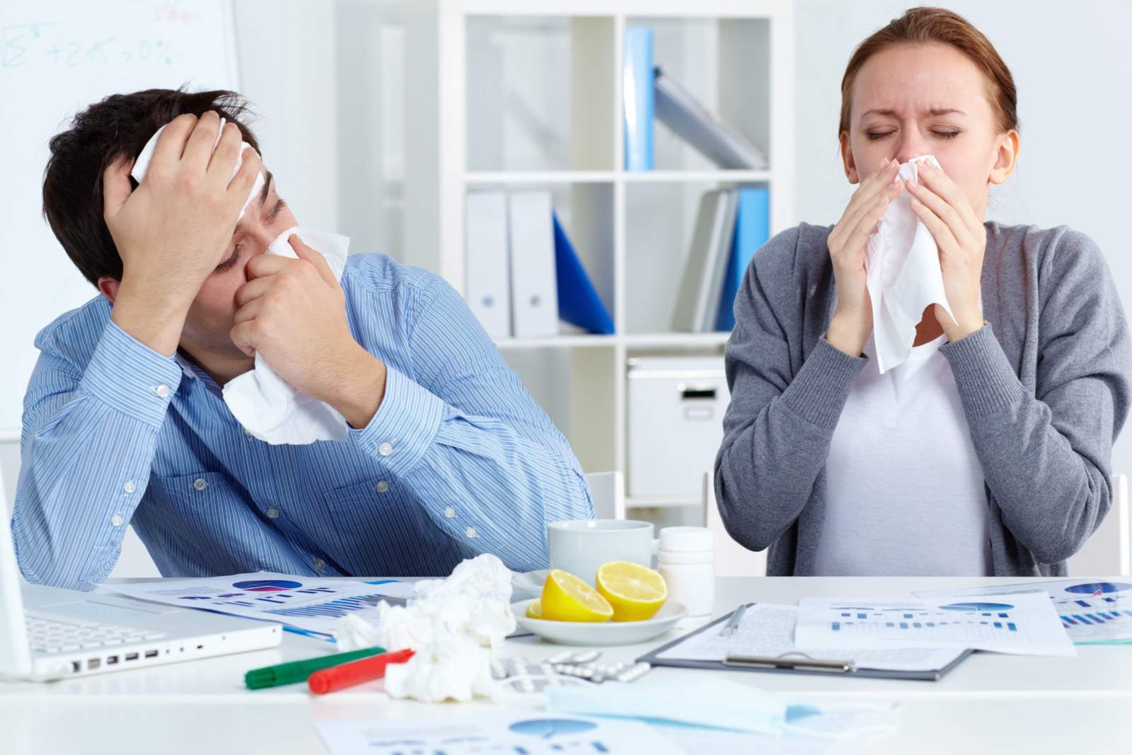 Avoid the Flu at Work