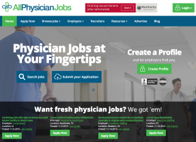 AllPhysicianJobs.com to Launch November 17th