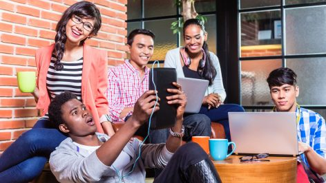 Being native to the digital age, millennials excel on the web.