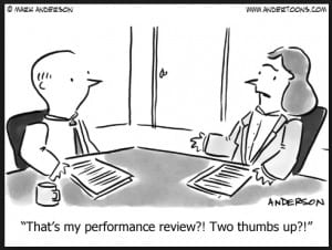 what to do after an employee review